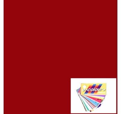 Rosco E Colour 027 Medium Red Gel Filter Sheet 10 x 12 Inch