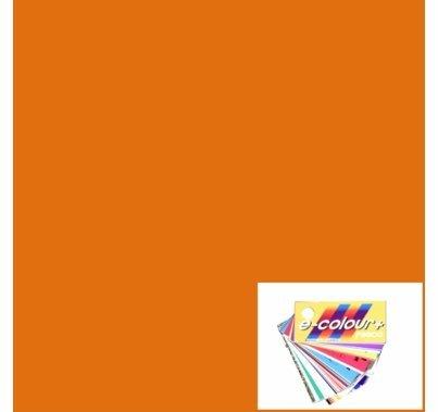 Rosco E Colour 204 Full CTO Orange 4'x4' Gel Sheet