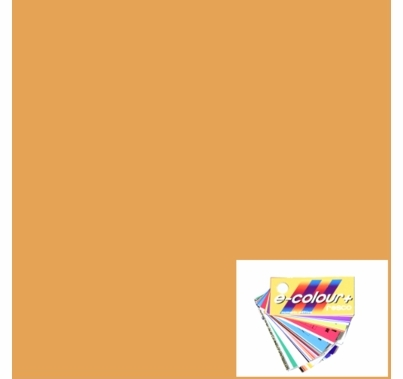 Rosco E Colour 205 Half CTO Orange 4'x4' Gel Sheet