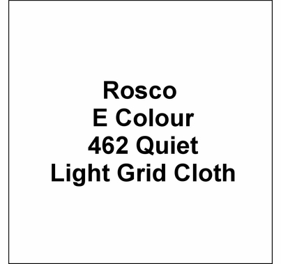 "Rosco E Colour 462 Quiet Light Grid Cloth Diffusion Gel Roll 60""x20'"