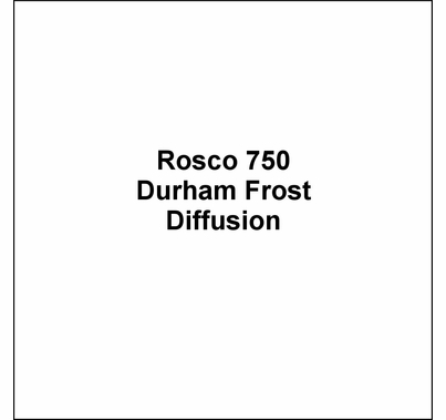 Rosco E Colour 750 Durham Frost Diffusion Lighting Gel Sheet