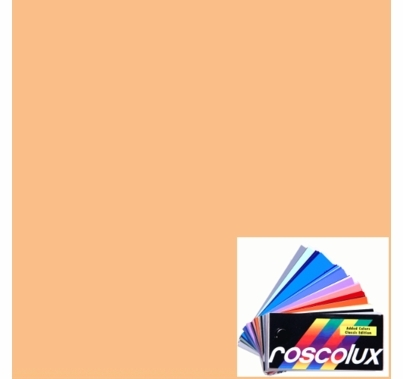 Rosco Gel  Roscosun 1/2  CTO 3408 Sheet Half CTO