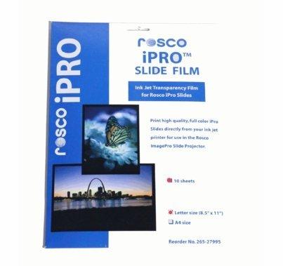 Rosco Image Pro iPro Slide Film 10 Sheet  Pack