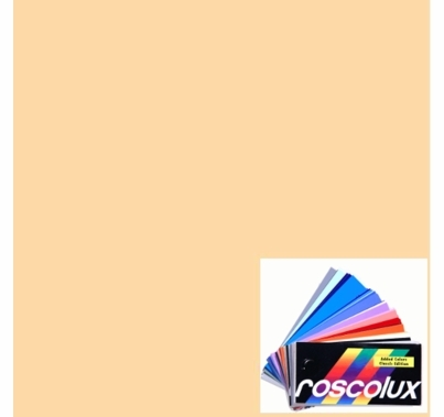 Rosco Roscolux 04 Medium Bastard Amber Gel Filter Sheet