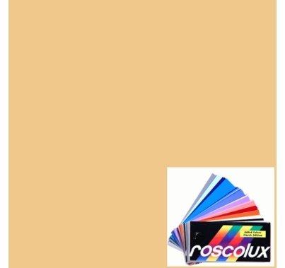 Rosco Roscolux 08 Pale Gold Gel Filter Sheet