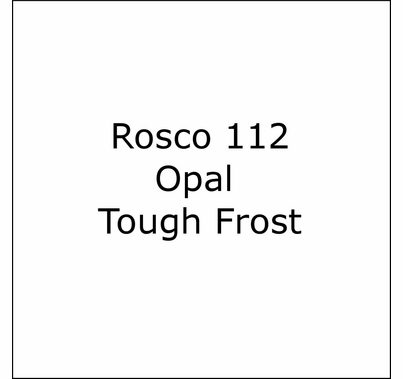 Rosco Roscolux  112 Opal Tough Frost Diffusion  Lighting Gel Filter