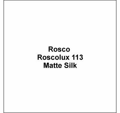 "Rosco Roscolux 113 Matte Silk Diffusion Lighting Gel 20""x24"""