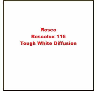 Rosco Roscolux 116 Tough White Diffusion Gel Filter Sheet 20x24 in