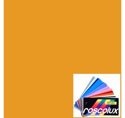 Rosco Roscolux 15 Deep Straw Gel Filter Sheet