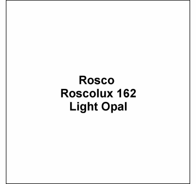 "Rosco Roscolux 162 Light  Opal Diffusion Lighting Gel 20""x24"""