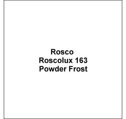 "Rosco Roscolux 163 Powder Frost Diffusion Lighting Gel 20""x24"""