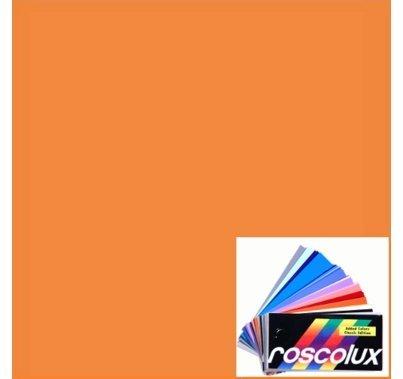 Rosco Roscolux 17 Light Flame Gel Filter Sheet