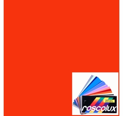 Rosco Roscolux 19 Fire Gel Filter Sheet