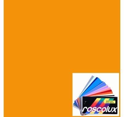 Rosco Roscolux 20 Medium Amber Gel Filter Sheet