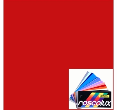 Rosco Roscolux 2001 Storaro Red Gel Sheet