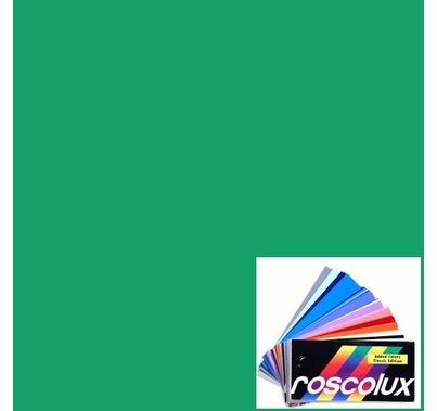 Rosco Roscolux 2004 Storaro Green Lighting Gel Roll