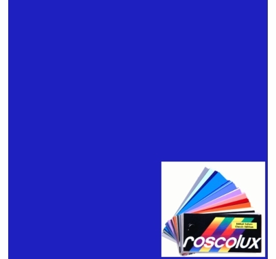 Rosco Roscolux 2007 Storaro VS Blue Gel Roll