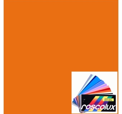 Rosco Roscolux 321 Soft Golden Amber Gel Filter Sheet