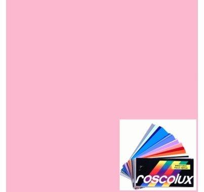 "Rosco Roscolux 33 No Color Pink 6"" x 6"" Gel Cut"