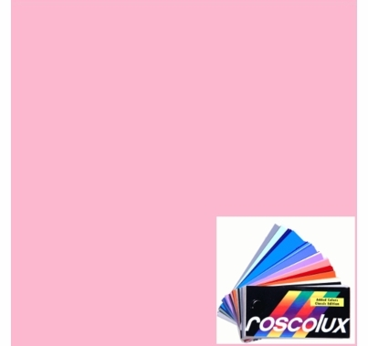 "Rosco Roscolux 33 No Color Pink Gel Filter Roll 24""x25ft"