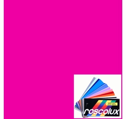 Rosco Roscolux 343 Neon Pink Gel Filter Sheet