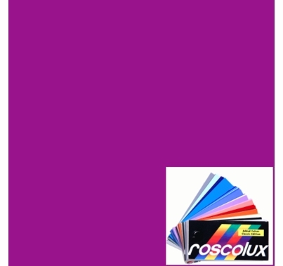 Rosco Roscolux 49 Medium Purple Lighting Gel Filter Sheet