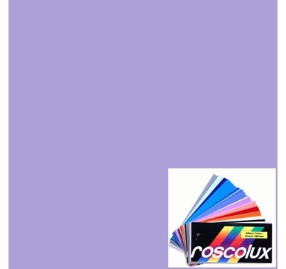 "Rosco Roscolux 54 Special Lavender Lighting Gel Filter Sheet 20""x24"""