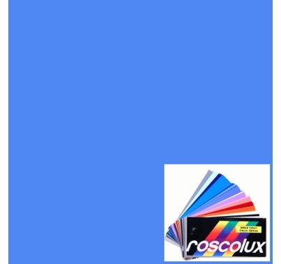 "Rosco Roscolux 64 Light Steel Blue Lighting Gel Filter Sheet 20""x24"""