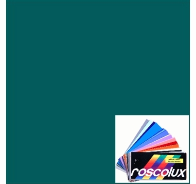 Rosco Roscolux 77 Green Blue Gel Filter Sheet