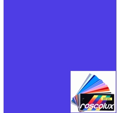 "Rosco Roscolux 78 Trudy Blue Gel Filter Sheet, 20""x24"""