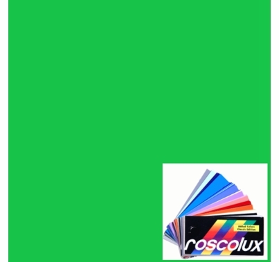 "Rosco Roscolux Chroma Key Green Gel Sheet 20""x24""  389"