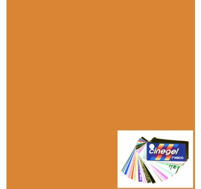 Rosco Roscosun 3/4 CTO 3411 Gel Sheet