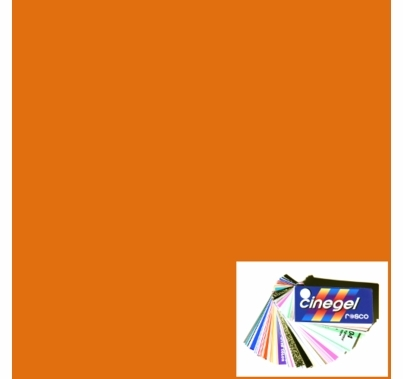 Rosco Roscosun Full CTO 3407 Gel Sheet