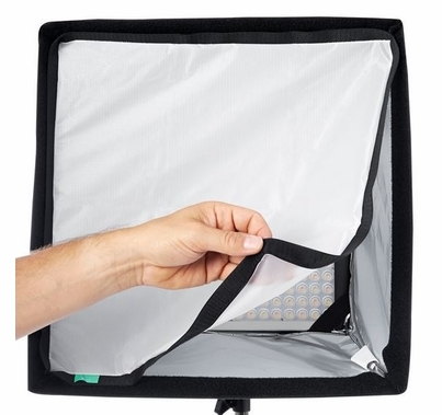 SnapBag SoftBox for Astra 1x1 LED & Hilio D12 T12