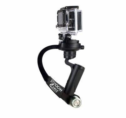 Steadicam Curve Go Pro Camera  Stabilizer - BLACK
