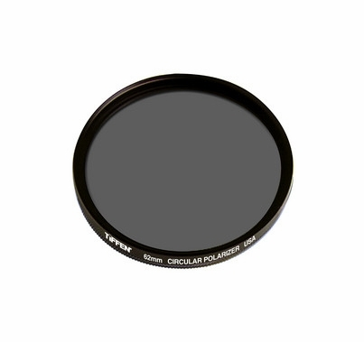 Tiffen 62mm Circular Glass Polarizer Filter, 62CP
