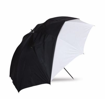 """Westcott 45"""" Optical White Satin Umbrella with Removable Black Cover"""