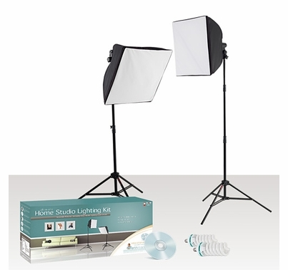 Westcott Home Studio Fluorescent Daylight Lighting Kit