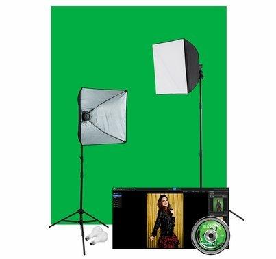 Westcott  Illusions uLite Green Screen Photo Lighting Kit: Lite