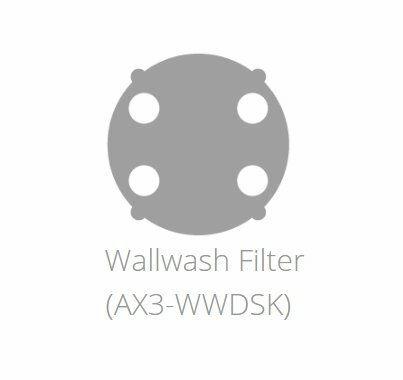 Astera LED AX3 Lightdrop Wall Wash Filter