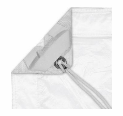 Modern Studio 10x20 Silent/Sail Half Grid Cloth With Bag