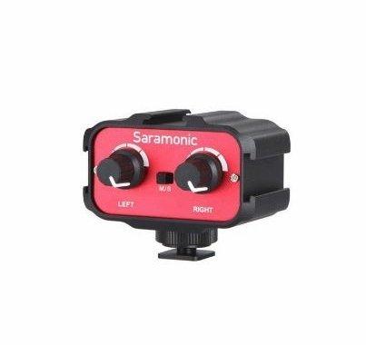 Saramonic Universal Audio Adapter (Stereo, Dual Mono 3.5mm Inputs)