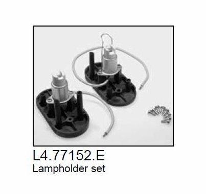 Arri Arrilite 2000 Open Face Lamp Socket / Lamp Holder, Part L4-77152-E