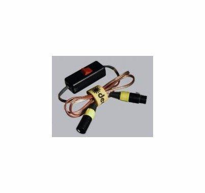 Dedolight 4-Pin XLR Battery Cable  DXBAT4-3