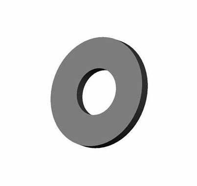 ETC Source 4 Flat Washer 5/16, Black Zinc