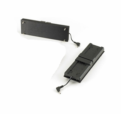 LED MiniPlus DV Battery Adapter Plate Canon Batteries