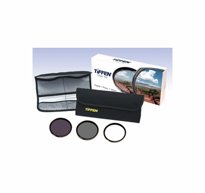 Tiffen 62mm Digital Essentials Filter Kit 62DIGEK3