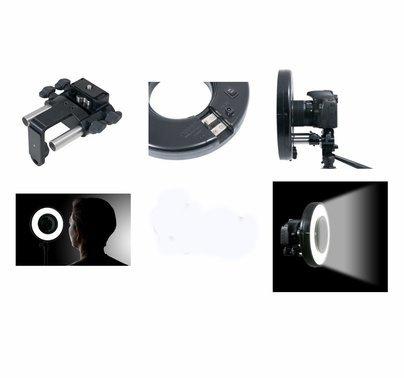 DEMO Rosco LitePad Loop LED Ring Light w/ Camera Mount