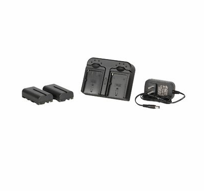 DV Camera Battery Kit w/ 2x Sony 2900mah Replacement Lithium Batteries and Charger