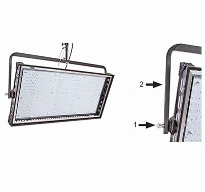 Kino Flo Image L80 LED DMX Yoke Mount Light
